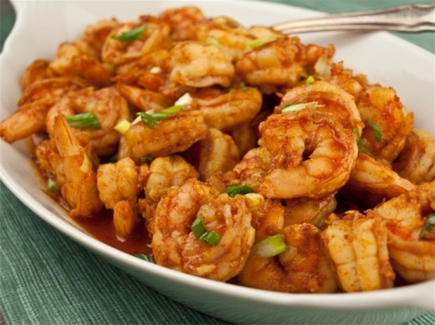Steamed Cajun Shrimp
