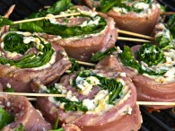 Italian Flank Steak Pinwheels