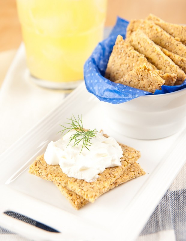 Oat Bran Crackers